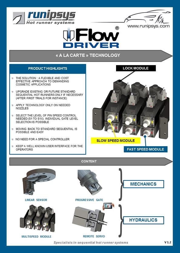 datasheet flow driver