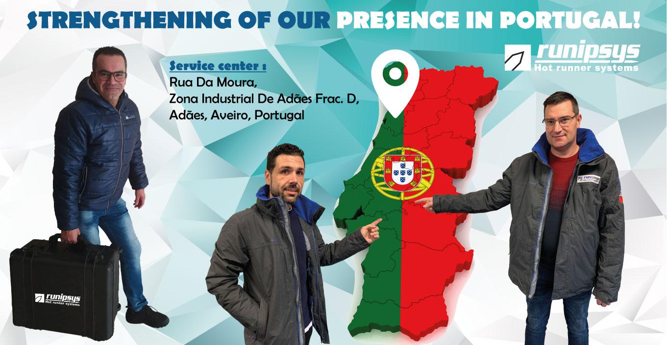 STRENGTHENING PRESENCE IN PORTUGAL!